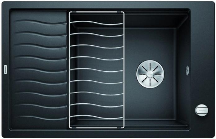 Мойка Blanco Elon XL 6S Silgranit PuraDur II антрацит + KA InFino®