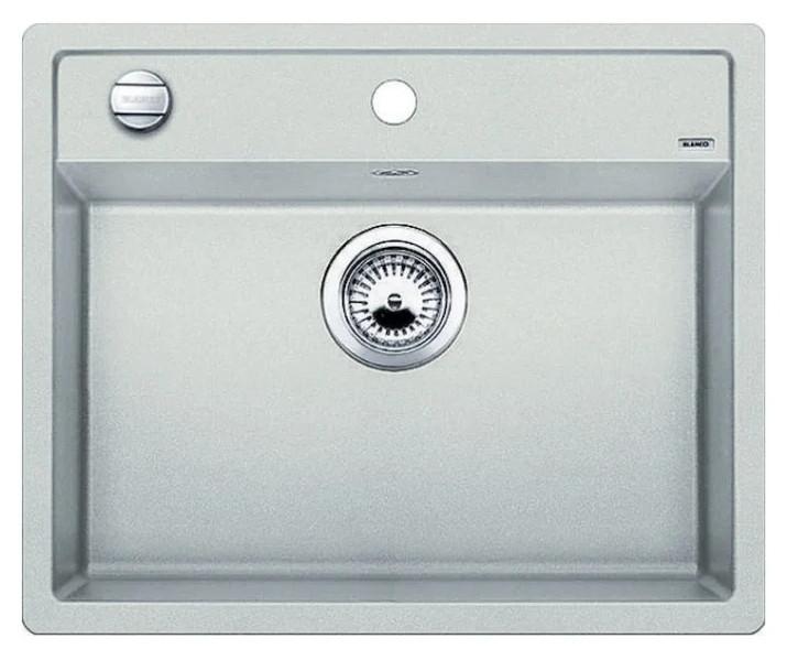 Мойка Blanco Dalago 6 Silgranit PuraDur II жемчужный с клапаном автоматом