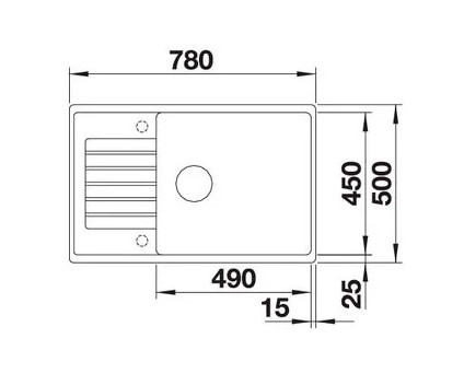 Мойка Blanco Zia XL 6S Compact Silgranit серый беж