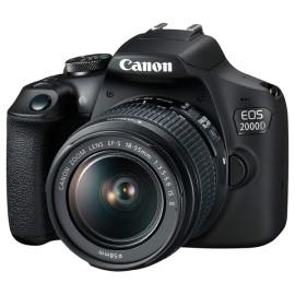 Фотоаппарат CANON EOS 2000D + объектив 18-55 мм