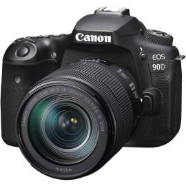 Фотоаппарат CANON EOS 90D + объектив EF-S 18-135 мм IS USM