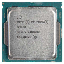 Процессор Intel Celeron G3900 BOX 2.8 GHz