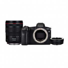 Фотоаппарат Canon EOS R + Адаптер EF-EOS R + объектив RF 24-240mm f/4-6.3 IS USM