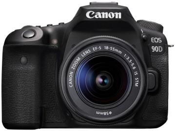 Фотоаппарат CANON EOS 90D + объектив EF-S 18-55 мм IS STM