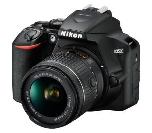 Фотоаппарат NIKON D3500 + объектив AF-P DX 18-55 мм VR