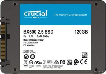 Твердотельный накопитель Crucial BX500 120GB
