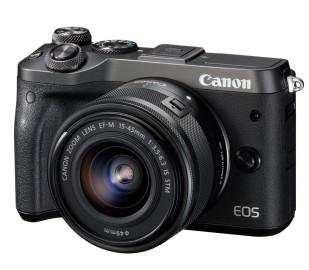 Фотоаппарат Canon EOS M6 + объектив EF-M 15-45mm IS STM