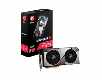 Видеокарта Radeon RX 5700 MSI PCI-E 8192Mb (RX 5700 GAMING X)