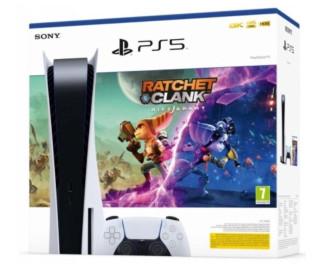 Игровая приставка Sony PlayStation 5 825 Гб, белый + Дополнительный контроллер