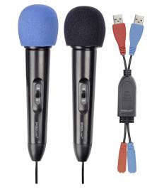Микрофон SPEED-LINK Microphone Set for WiiR, black SL-3471-BK