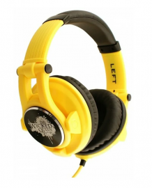 Наушники Fischer Audio Wicked Queen Yellow