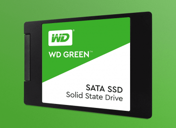 Твердотельный накопитель WD Green 240Gb (WDS240G2G0A)