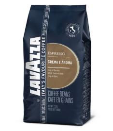 Кофе в зернах LAVAZZA CREMA E AROMA ESPRESSO BLUE (1кг)