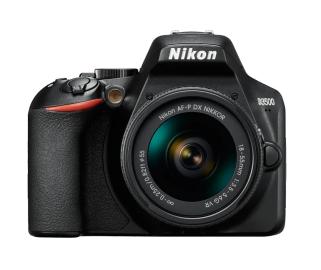 Фотоаппарат NIKON D3500 KIT 18-55mm non VR / black [VBA550K002]