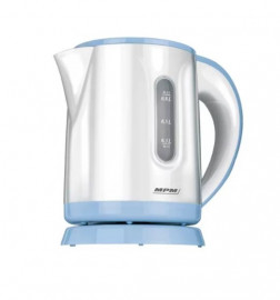 Чайник MPM MCZ-47 белый/голубой