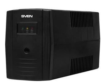 ИБП SVEN Pro 600 600VA/360Вт 2 euro sockets
