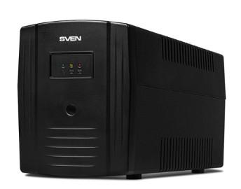 ИБП SVEN Pro 1000 1000VA/720Вт USB, RG-45, 3 euro sockets