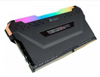 Память DDR4 8Gb 3200MHz Corsair Vengeance RGB PRO bulk black CMW8GX4M1Z3200C16