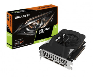 Видеокарта Gigabyte GeForce GTX 1660TI 6GB GDDR6 MINI ITX (GV-N166TIXOC-6GD) 1785/12000MHz