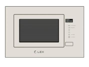 Встраиваемая микроволновая печь LEX BIMO 20.01 IV LIGHT