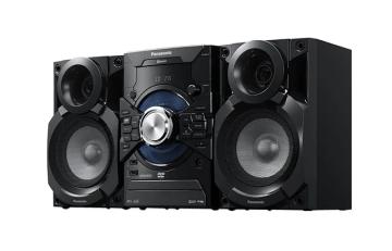 Музыкальный центр Panasonic SC-VKX25EE-K Bluetooth/CD/DVD/FM/USB