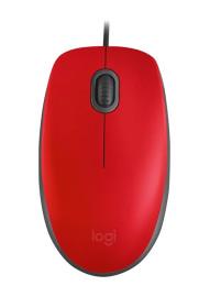 Мышь Logitech M110 Silent USB Red 910-005489