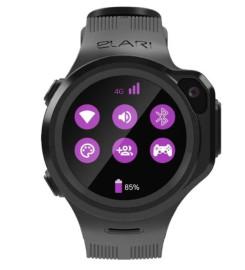 Умные часы Elari Kidphone 4GR Black
