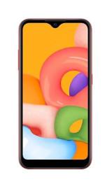 Смартфон Samsung Galaxy A01 Красный (SM-A015FZRDSER)