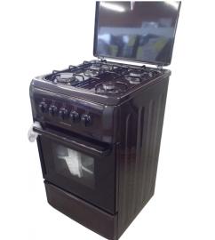 Плита газовая с крышкой Ferre F5N40G1 коричневый