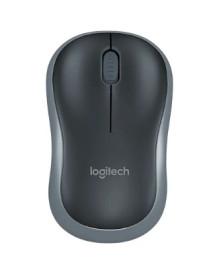 Беспроводная мышь Logitech M185 Grey-Black USB (910-002238)