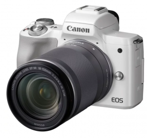 Фотоаппарат Canon EOS M50 kit + EF-M 18–150mm f/3.5–6.3 IS STM White