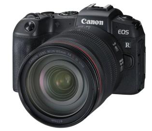 Фотоаппарат Canon EOS RP kit + RF24-105mm f/4L IS USM + адаптер EU26 Black