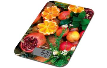 Кухонные весы Polaris PKS 1057DG fruits