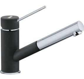 Однорычажный смеситель для кухни (мойки) Franke Sirius Top 652 (chrom-onyx)