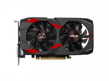 Видеокарта ASUS Cerberus GeForce GTX 1050 Ti Advanced 4GB (CERBERUS-GTX1050TI-A4G)