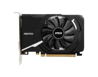 Видеокарта MSI GeForce GT 1030 2GB DDR4 (GT 1030 AERO ITX 2GD4 OC) 64 бит 1430/2100 DVI,HDMI