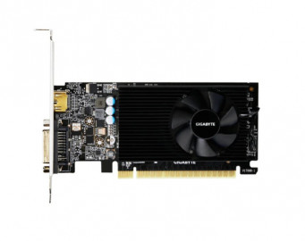 Видеокарта Gigabyte GeForce GT 730 2GB DDR5 (GV-N730D5-2GL) 902/5000MHz DVI, HDMI