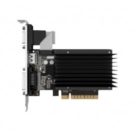 Видеокарта Palit GeForce GT 730 2GB DDR3 (NEAT7300HD46-2080H) 902/1600 DVI, HDMI, VGA пассивное охл.
