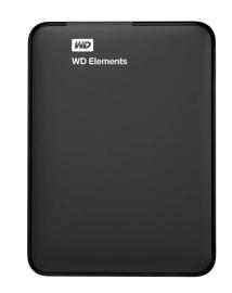 "Жесткий диск внешний 1Tb 2.5"" USB3.0 WD Elements Portable [WDBUZG0010BBK-EESN/WESN]"