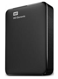 """Жесткий диск внешний 4Tb 2.5"""" USB3.0 WD Elements черный [WDBU6Y0040BBK-WESN]"""