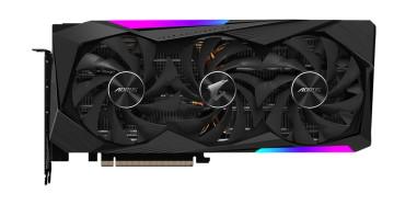 Видеокарта Gigabyte GeForce RTX 3070 AORUS MASTER 8GB GDDR6 (GV-N3070AORUS M-8GD)