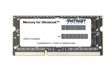 Оперативная память 8 GB 1 шт. Patriot Memory SL PSD38G1600L2S