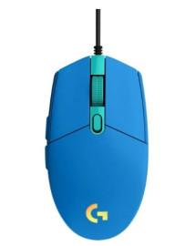 Игровая мышь Logitech G102 LIGHTSYNC Blue USB (910-005801)