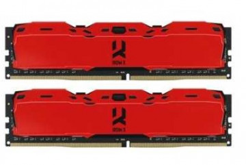 Оперативная память GOODRAM Iridium X RED DDR4 16Gb (2x8Gb KIT) IR-XR3200D464L16SA/16GDC