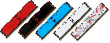 Оперативная память DDR4 16Gb 3200MHz GOODRAM Iridium Red с радиатором IR-XR3200D464L16A/16G