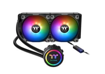 Водяное охлаждение Thermaltake TH240 ARGB Sync AIO Liquid Cooler для Intel LGA 1200/115x/775 AMD FMx/AMx (CL-W286-PL12SW-A)
