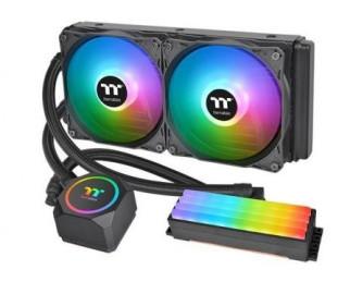 Водяное охлаждение Thermaltake Floe RC240 CPU & Memory (CL-W271-PL12SW-A)