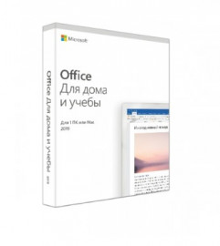 ПО Office 2019 Home and Student 2019 Russian Russia Only Medialess (BOX) 79G-05207