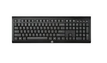 Беспроводная клавиатура HP Wireless K2500 Black (E5E78AA)