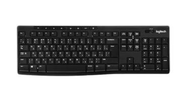 Клавиатура беспроводная Logitech Wireless Keyboard K270